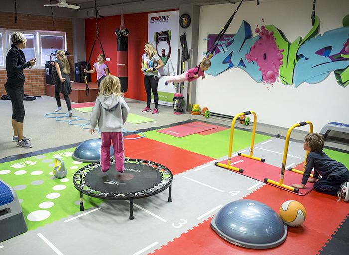 Kruhový trénink pro děti